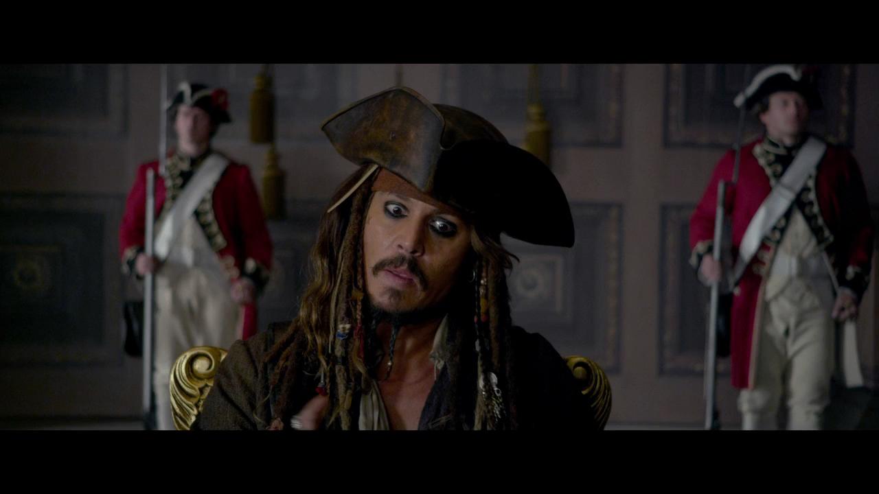 Piratas del Caribe 4: Navegando en Aguas Misteriosas (2011) BRRip Full HD 1080p Latino - Ingles captura 1