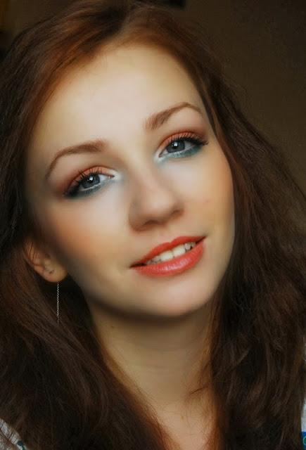 makijaż , aliexpress, makeup , make u p , metamorfoza , blog, kosmetyki, revolution, farbki do brwi, wiosenny, wiosna , wiosenny makijaż