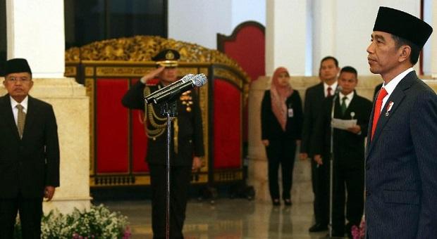 Presiden Lantik 9 Gubernur dan Wakil Gubernur