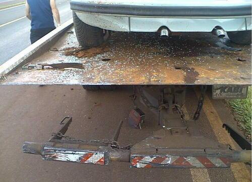 Kemalangan Ngeri Sehingga Kepala Pemandu Kereta Ini ...