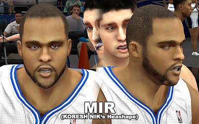 NBA 2K13 Mod Glen Davis Cyberface Update