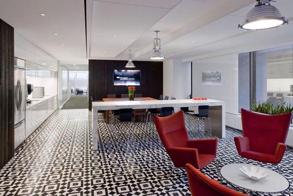 modern office pantry design