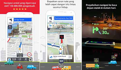 Sygic GPS Navigation & Maps - Aplikasi Navigasi Android