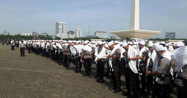 Angkatan Militer Indonesia Gelar Apel H-1 Jelang aksi 212
