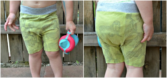 Sewing for Girls - walrus shorts