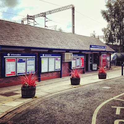 Wilmslow Station, East Cheshire, UK