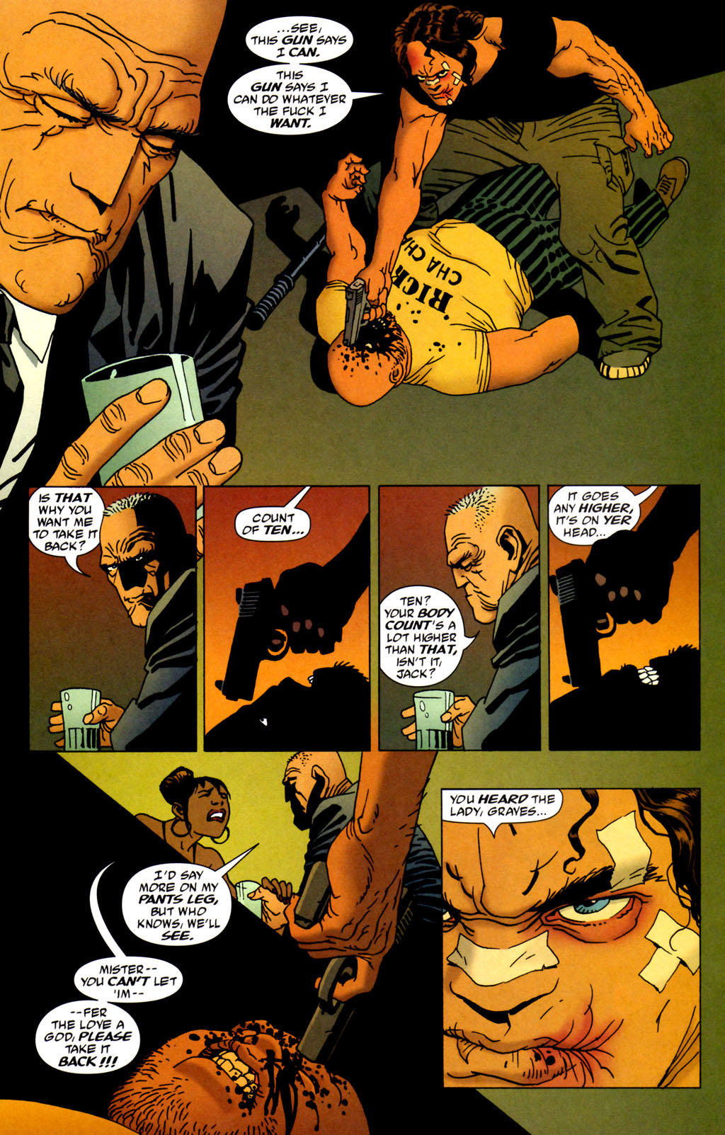 Read online 100 Bullets comic -  Issue #64 - 17