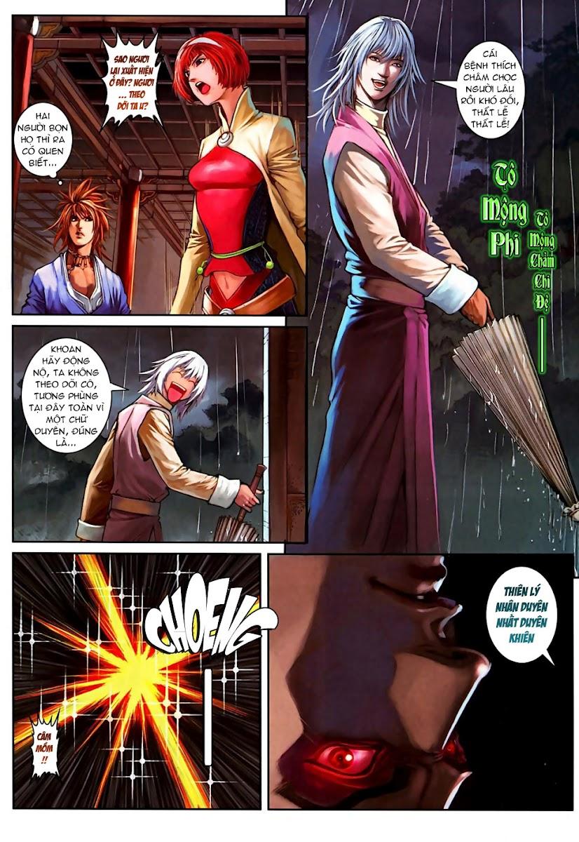 Ôn Thuỵ An Quần Hiệp Truyện Phần 2 chapter 6 trang 20