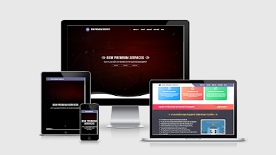 [BSW-05] Premium Services - Professional Template for Blogspot