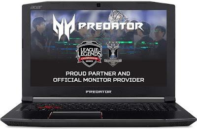 Acer Predator Helios 300 PH315-51-7581