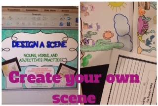 design a scene