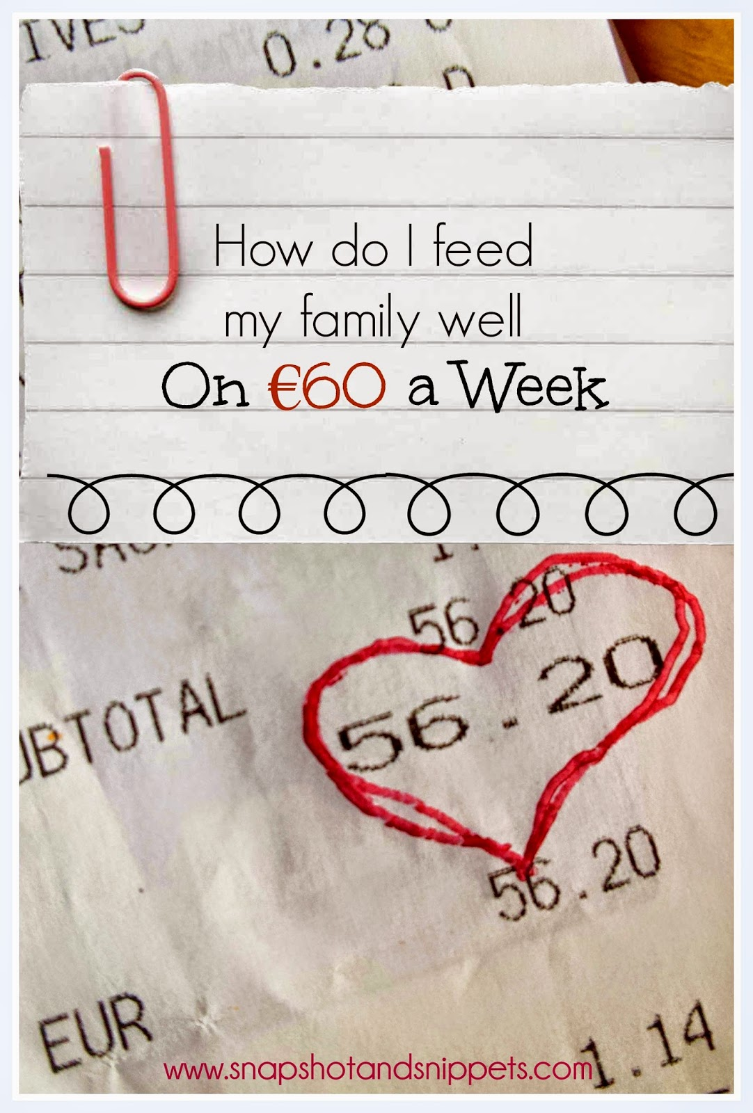 How I feed my family well on a Budget