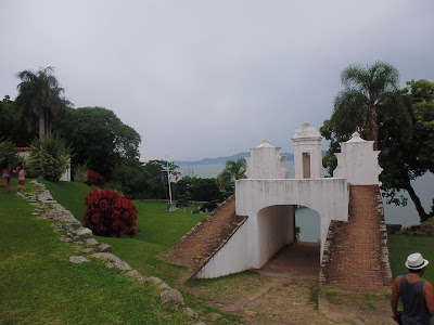 Brasil - Ilha Do Anhatomirim (Florianopolis), Islas de Florianopolis, Isla de Anhatomirim, Turismo en Brasil,