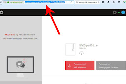 Cara mudah mendownload File dari MEGA dengan IDM
