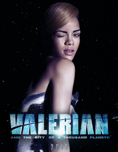 Rihanna va juca în filmul SF al regizorului Luc Besson