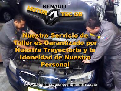 Taller Electromecanica Automotriz Renault