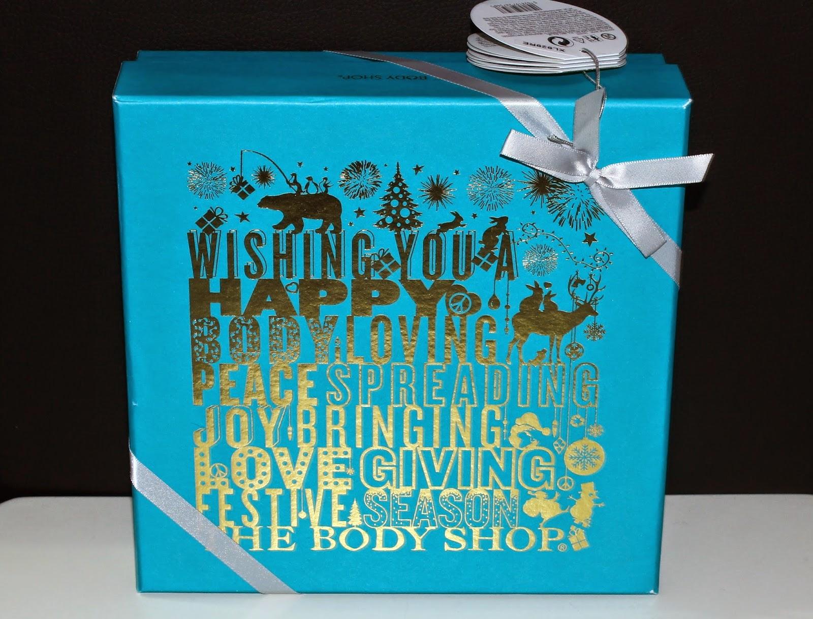 c2315a4a608 Xmas Gift Idea   Body Shop Bath & Body Christmas Gift Sets   Review