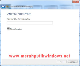 recovery key bitlocker