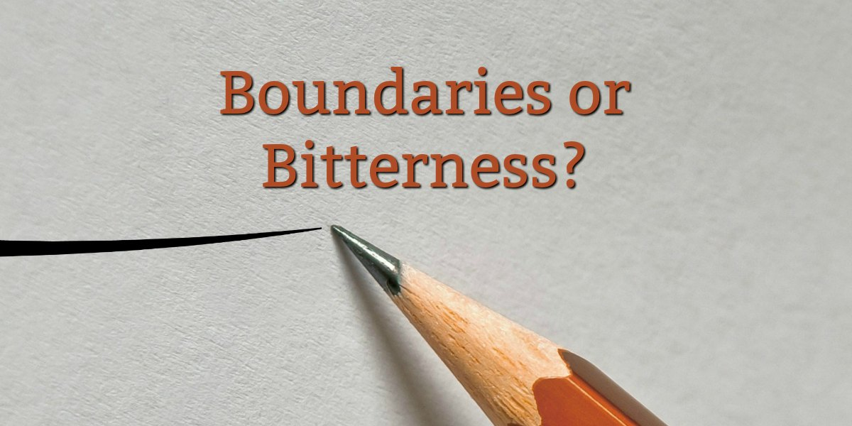 "Are ""Boundaries"" a Christian Concept?"