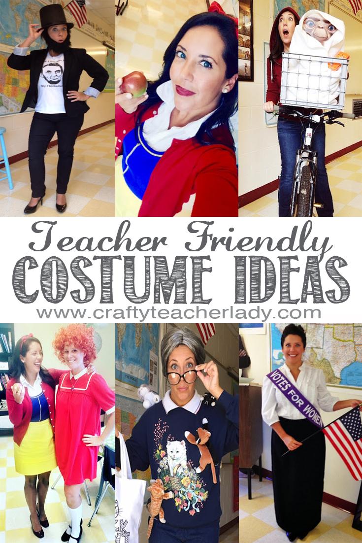 Teacher Costumes  sc 1 st  Crafty Teacher Lady & Crafty Teacher Lady: Teacher Friendly Halloween Costume Ideas
