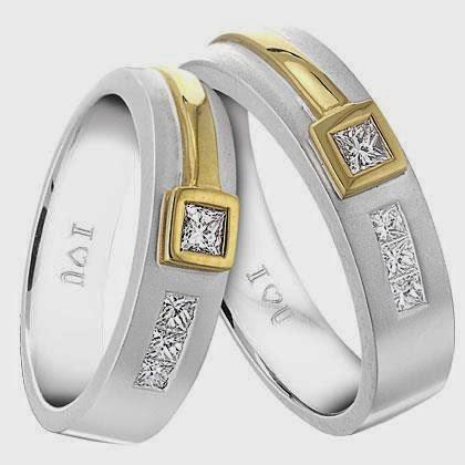 koleksi cincin kawin emas putih | album wedding