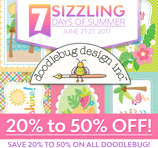 Scrapbook.com Sizzix 20% to 50% off Summer Sale 6/22/17