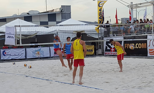 FIVB Beach Volleyball World Tour Takes Center Stage in Manila