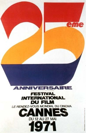 25 years cannes poster