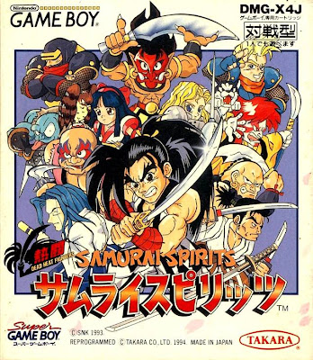 samurai spirits gameboy