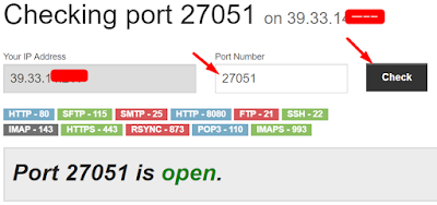 PortChecker.co - How You Can Open Port / Forward Port On Any Modem