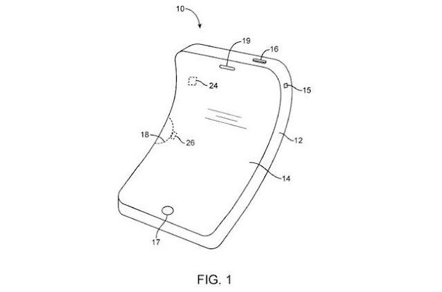 Apple already has the patent pointing to future iPhones with curved screen
