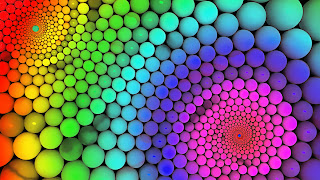 colorful 3d fractal wallpaper
