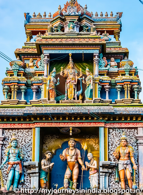 Vayalur Murugan Temple Tower