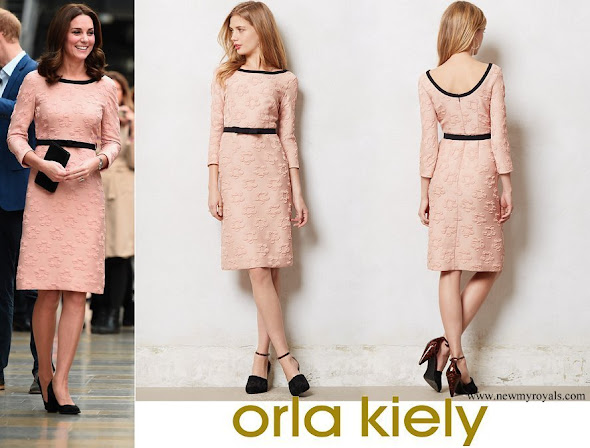 Kate Middleton wore Orla Kiely Piped Marian dress