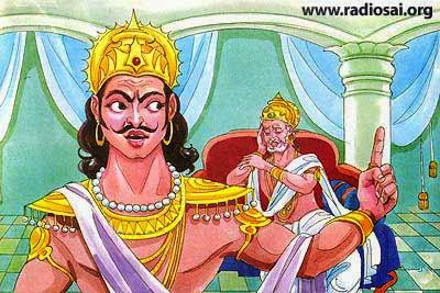 Duryodhana and Dhritarashtra