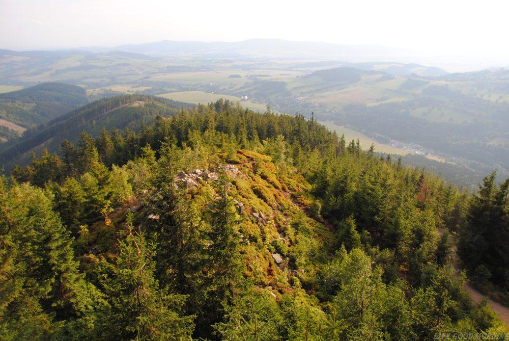 Ścieżka w obłokach, czyli do Czech na spacer w chmurach.