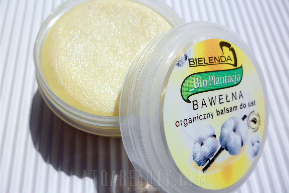 Bielenda BIO PLANTACJA BAWEŁNA Organiczny balsam do ust