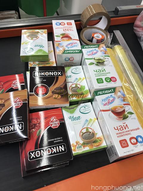Hồng Phượng Store không lo hàng giả, hàng kém chất lượng - hình ảnh lấy hàng tại Moskva