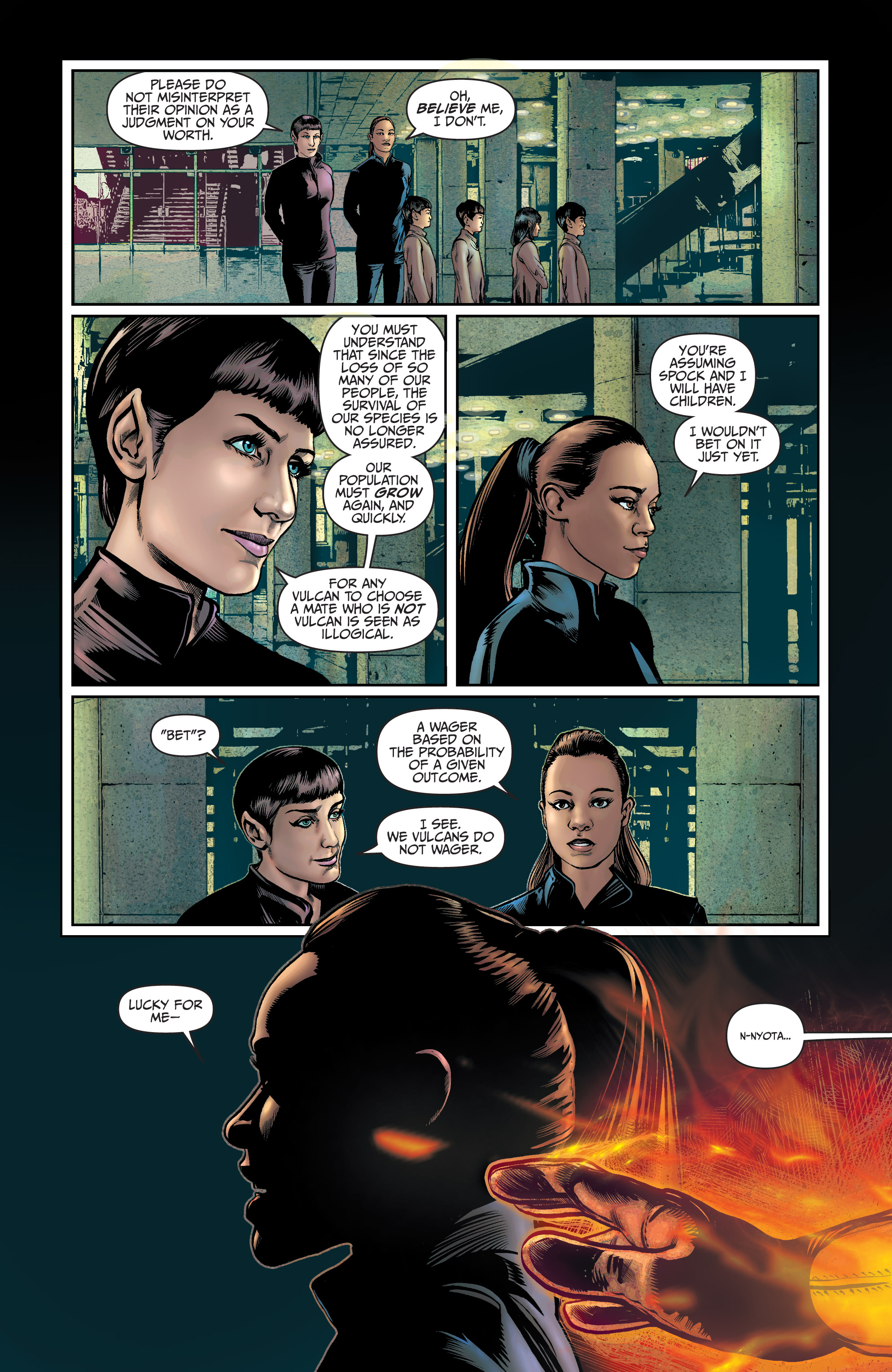 Read online Star Trek: Boldly Go comic -  Issue #9 - 13