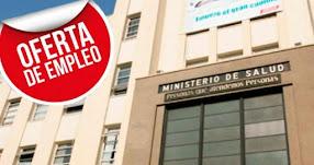 MINSA: Convocatoria CAS con sueldo de S/ 3.500 hasta S/ 6.000 - www.minsa.gob.pe