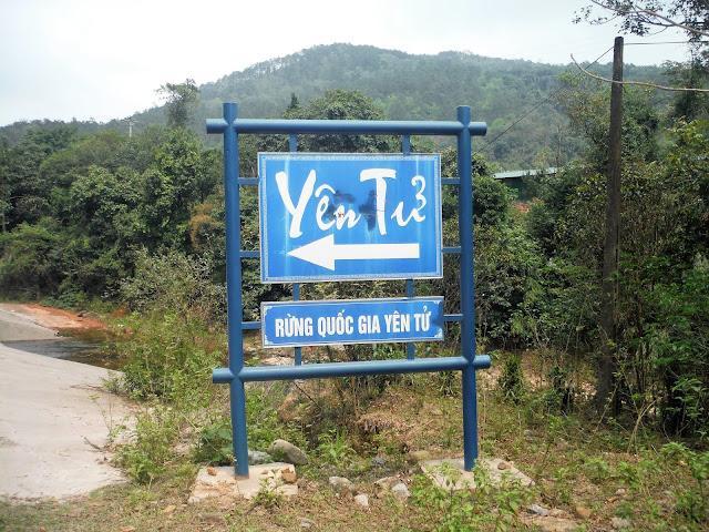 yen tu sign vietnam
