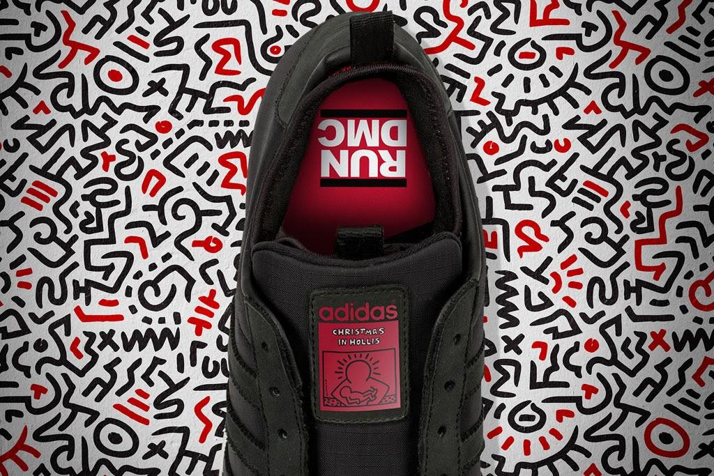 Keith Haring x RUN DMC x Adidas Originals Superstar 80s  Christmas in Hollis   d5f5553d9