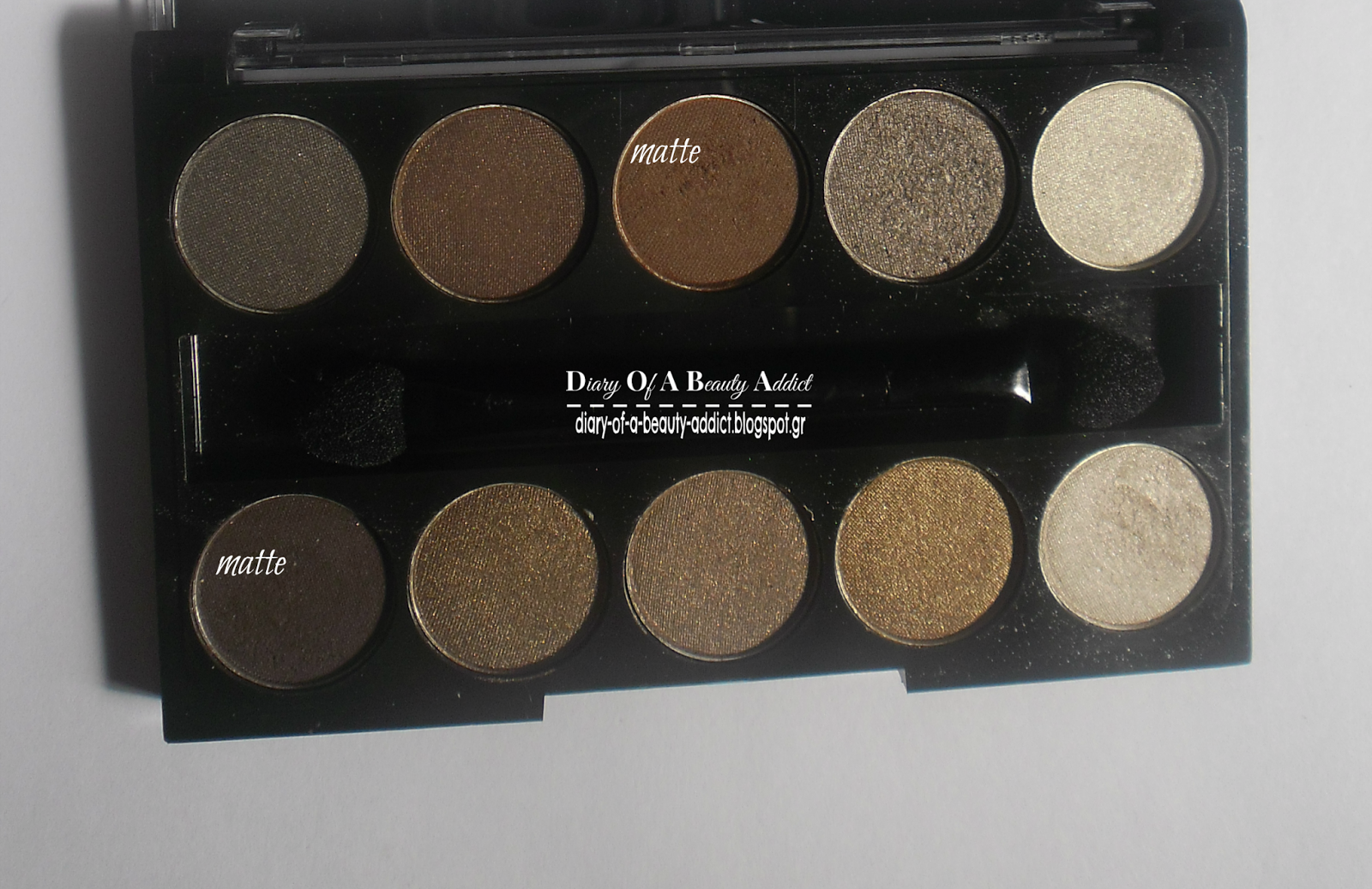 Fashion Make Up Eyeshadow 10 Studio- No 2