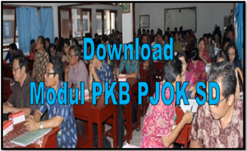 Download Modul PKB PJOK SD
