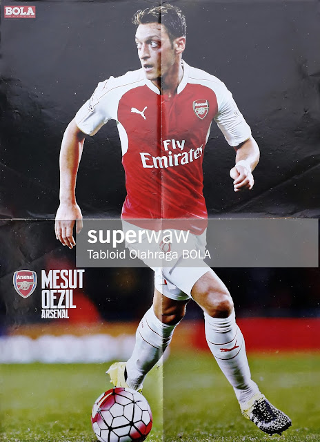 MESUT OZIL OF ARSENAL 2015