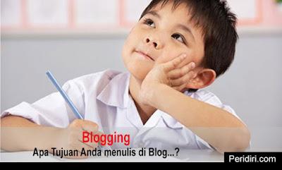 beberapa alasan yang tepat tentang tujuan menulis di blog
