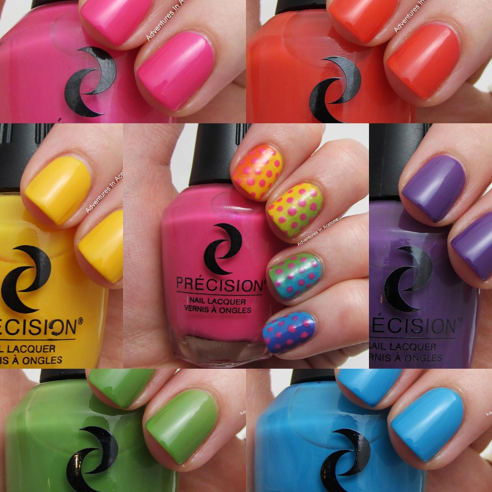 Vertical Grant Precision Nail Lacquer Color Fx Collection