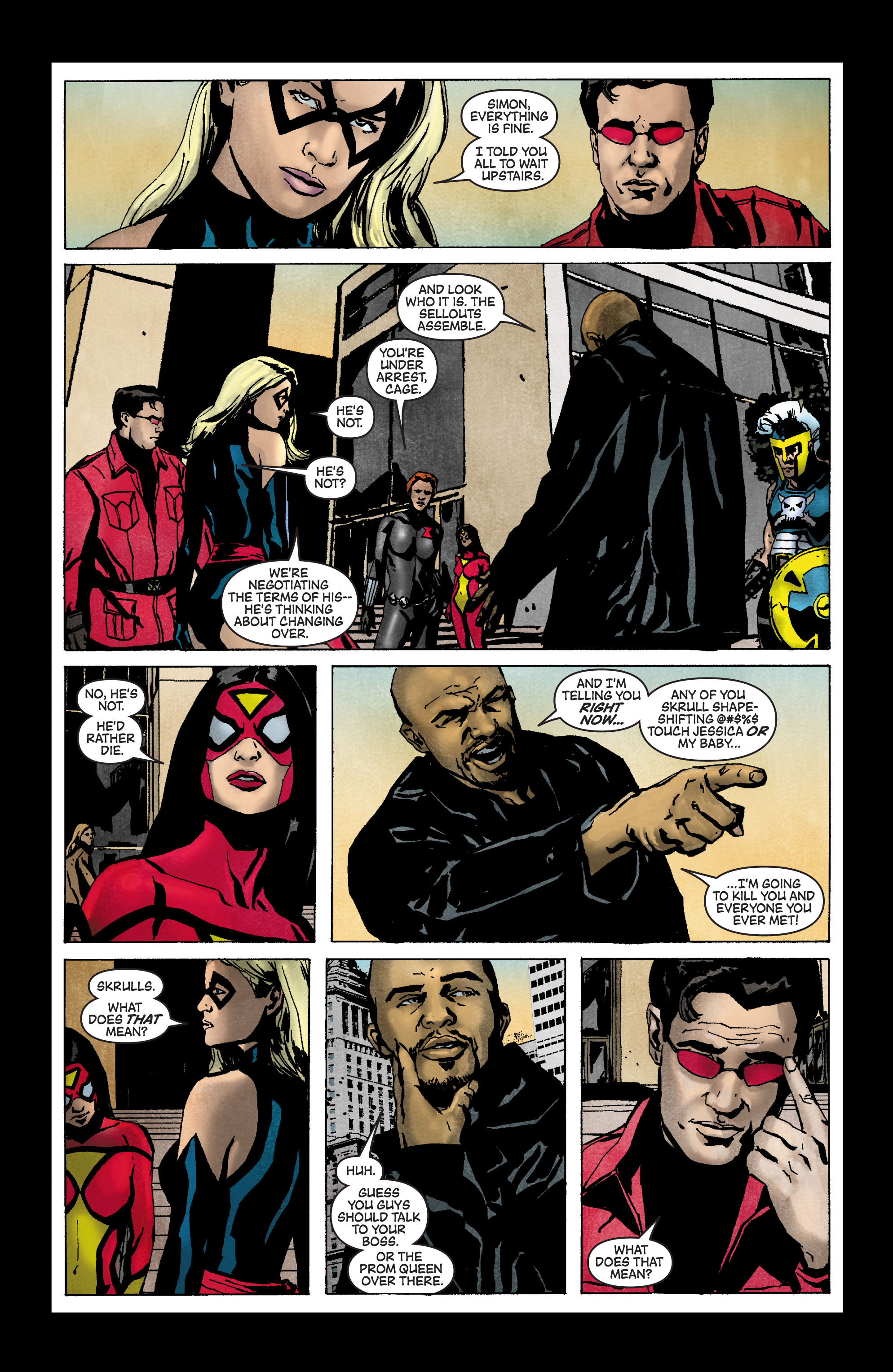 Read online Secret Invasion: The Infiltration comic -  Issue #3 - 16