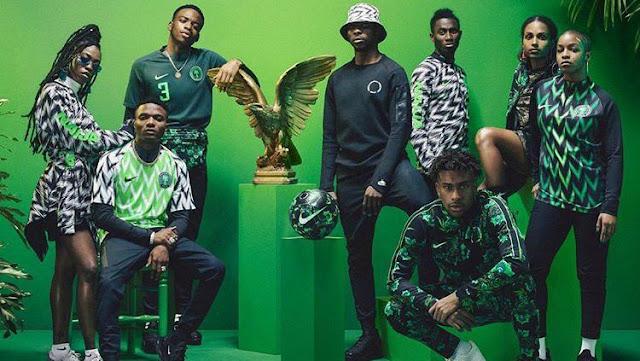Jersey Keren Nigeria Ludes