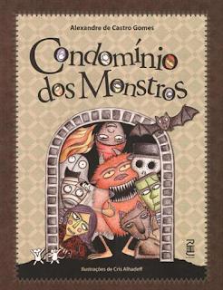 imagem da capa do livro Condomínio dos monstros